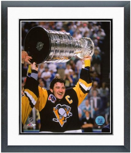 Mario Lemieux Pittsburgh Penguins Stanley Cup Photo 12.5