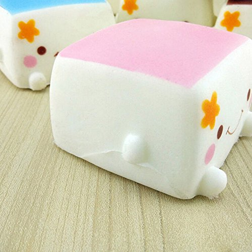 Squishy Uae : Buytra Slow Rising Tofu Smiley Face Squishy Buns Charms,1 Piece Toy in the UAE. See prices ...