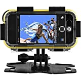 POLAROID Extreme Sports Action Case/Chase Mount for iPhone 5, 5S - Retail Packaging - Black