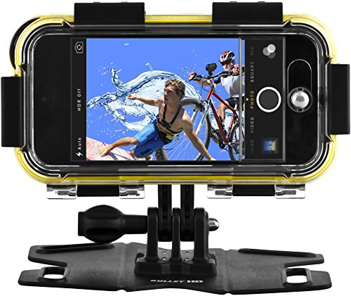 POLAROID Extreme Sports Action Case/Chase Mount for iPhone 5, 5S - Retail Packaging - Black (Polaroid Phone Case Iphone 5)