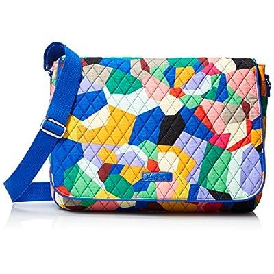 100620a17c1c new Vera Bradley Women's Laptop Messenger Pop Art Messenger Bag ...