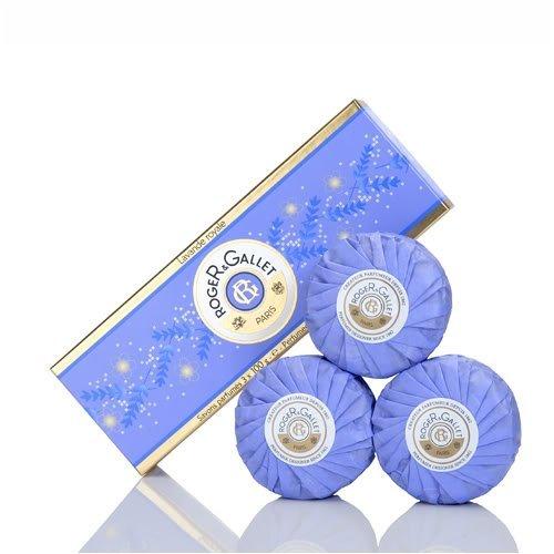 Roger & Gallet Lavande Royale Soap Coffret 3 x 100g