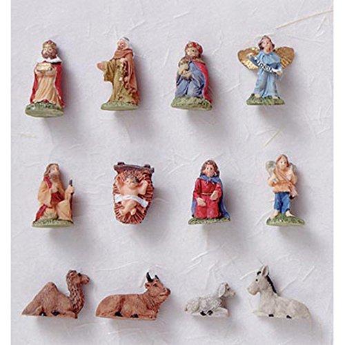 Darice Miniature Nativity Ornament (Miniature Nativity Set)