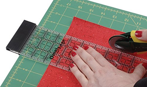 OmniEdge 4-Inch-by-36-Inch Non-Slip Quilter's (4in Ruler)