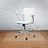 Vinyl Office Chair Mat - 36'' X 48'' - for Hard Floor Tile Scratch, Mark, and Scuff Resistant Protection on Tile, Hardwood, Vinyl, Laminate (36'' x 48'')