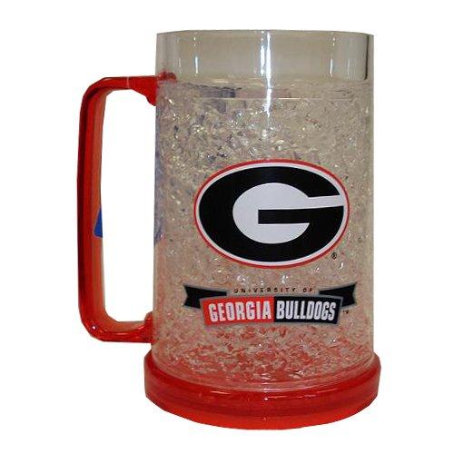 NCAA Georgia Bulldogs 16-Ounce Crystal Freezer - Images Athens Georgia