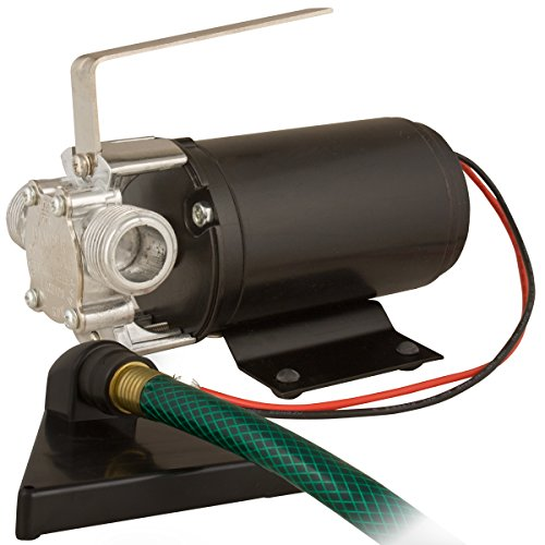 Star HPP12V Portable Battery Powered Water Transfer Pump with Suction Hose, Strainer and Leads, 12 Volt -  Star Water Systems