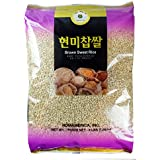 ROM AMERICA (4 Pound) Brown Sweet Rice Sticky Rice Glutinous Rice 현미찹쌀