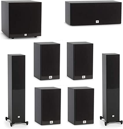 Amazon.com: JBL 100.10 System with 10 JBL Stage A101000 Floorstanding