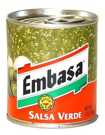 Embasa Salsa Verde - 7 oz.