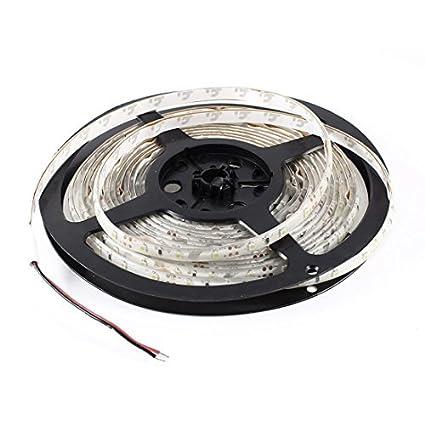 5M / 16,4 pés 3528 SMD 300 LEDs brancos Signboard Auto Decor Light Strip