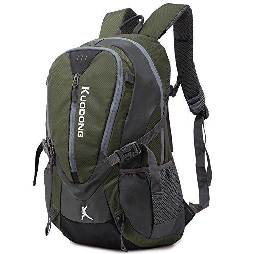 BUSL hombros mochila de viaje mujer hombre libre del bolso de los viajes combinados senderismo gran capacidad de montar 45L . b a