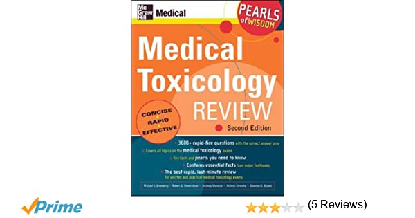 Medical toxicology review pearls of wisdom second edition medical toxicology review pearls of wisdom second edition 9780071464536 medicine health science books amazon fandeluxe Image collections