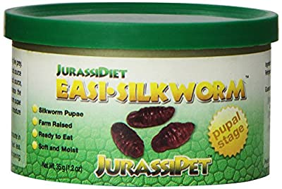 JurassiDiet - EasiSilkworm, 35 g / 1.2 oz