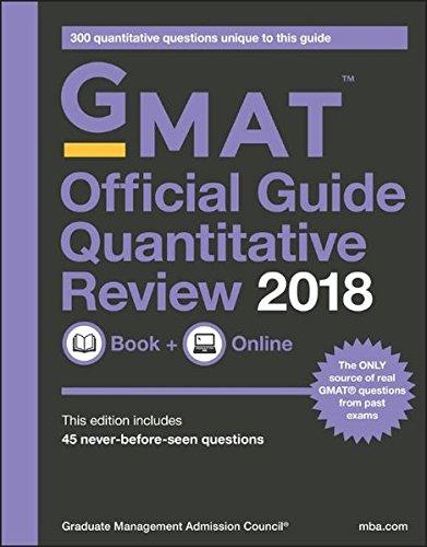 GMAT Official Guide 2018 Quantitative Review: Book + Online (Official Guide for Gmat Quantitative - Reviews E-gmat