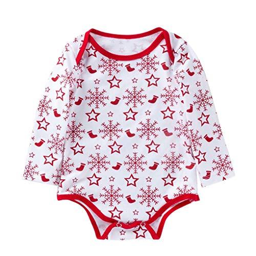 Dot Romper Nourrisson Print Petit Citrouille Baby Arichtop White Automne Jumpsuit Snowflake Tout Girl AwtqSY