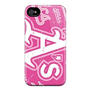 Iphone 6plus MZf15460SRkf Allow Personal Design Colorful Oakland Athletics Pattern Great Hard Cell-phone Cases -JasonPelletier