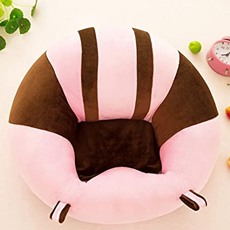 Sofa Babyst/ütze Kinderm/öbel weiches Kissen Pl/üschspielzeug buntes Muster Baumwolle Sonitech Babyst/ützsitz runder Stuhl