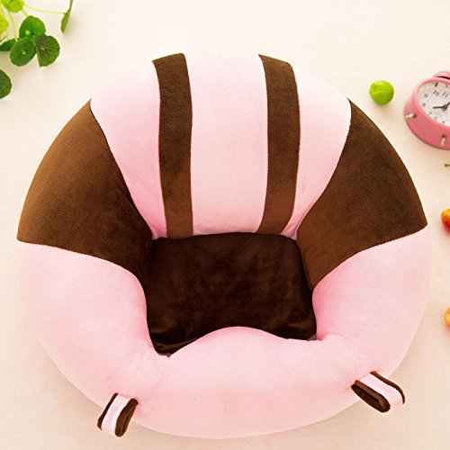 Baby Chairs Sitting Learning Infant Seat Plush Stuffed Animal Pillow Protector Cotton Cushion Sofa
