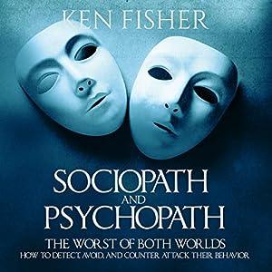 Sociopath and Psychopath Audiobook