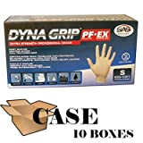 Dyna Grip Powder-free Latex Exam Gloves - Case Size Medium