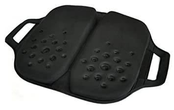 Tektrum Foldable Orthopedic Cool Gel Seat Cushion With Handle For Home Office Car Chairs Travel