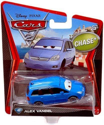 Amazon Com Disney Pixar Cars 2 Movie 1 55 Die Cast Car Alex