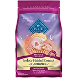 Blue Buffalo Indoor Hairball Natural Mature Dry Cat Food, Chicken & Brown Rice, 7 lbs.