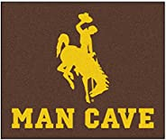 """NCAA University of Wyoming Man Cave Tailgater Rug, 60"""" x 72""""/Sm"""