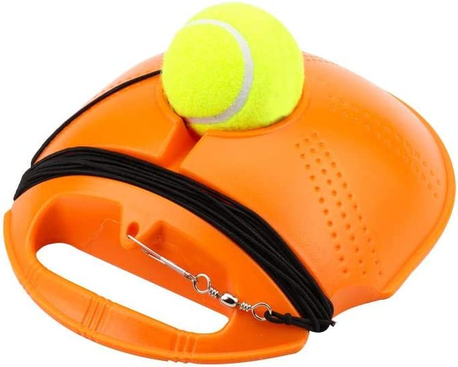 Latest Solo Tennis Trainer Rebound Ball,Fill /& Drill Tennis Trainer with String,Tennis Trainer Rebounder Ball,Self-Study Practice Training Tool,Great Educational Gift
