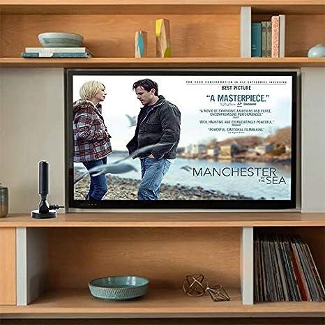 RONSHIN 1080P 200 Mile Range Antenna TV Digital HD Skywire 4K Antena Digital Indoor HDTV Single Amplifier