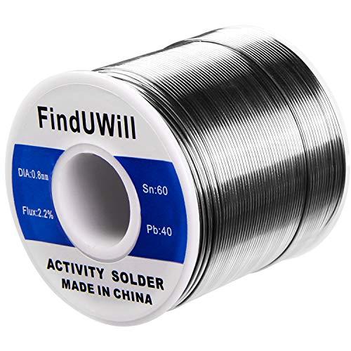 - FindUWill Solder Roll, 60/40 Alloy, 0.031