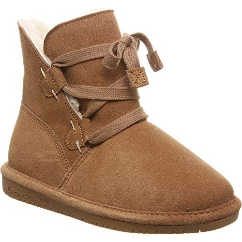BEARPAW Zora Youth Boot Hickory II Size 3 M US Little Kid