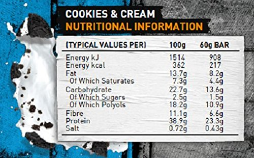 carb killa cookies and cream facts ile ilgili görsel sonucu