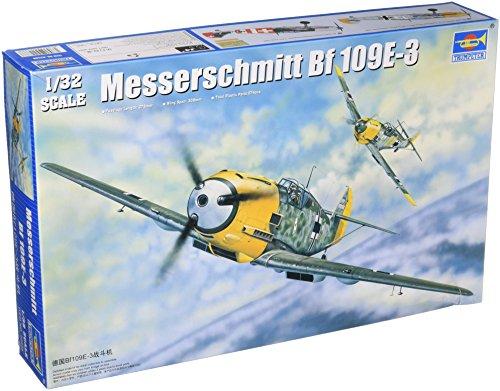 - Trumpeter 1/32 Messerschmitt Bf109E3 German Fighter Model Kit