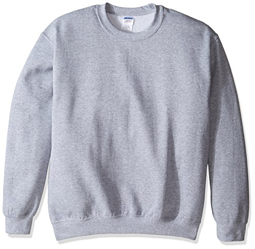 Gildan Men's Heavy Blend Crewneck Sweatshirt - Large - Sports Grey