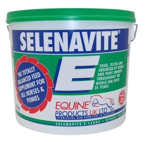 Equine Products Selenavite E Feed Supplement x Size  10 Kg