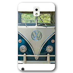 UniqueBox Customized Black Frosted Samsung Galaxy Note 3 Case, VW Minibus Samsung Note 3 case