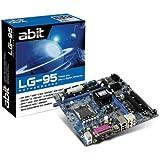 ABIT Matx LG-95 LGA775 945GZ ICH7 FSB1066 PCI-Ex16 SATA 3Gb/s Motherboard
