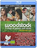 Woodstock: 3 Days of Peace and Music (40th Anniversary Edition) [Blu-ray] thumbnail