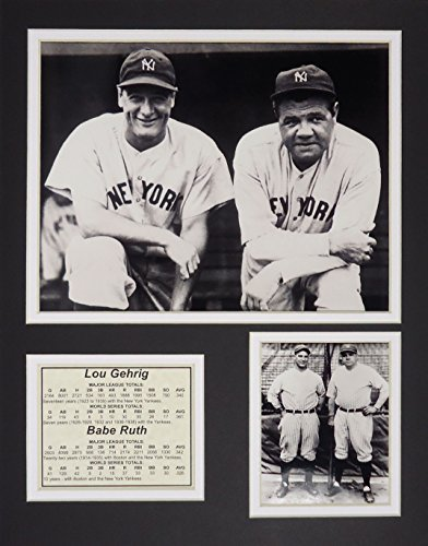 Ruth Framed Babe (Lou Gehrig & Babe Ruth - Portrait 11