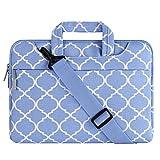 MOSISO Laptop Shoulder Bag Compatible 15-15.6