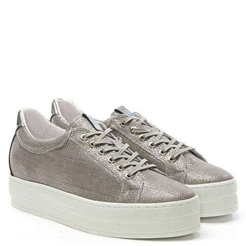 Reptile Leather Grey Grey Flatform Trainer Daniel Leather Suri qt5w0pp