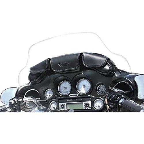 Tbags 3-Pocket Windshield Bag 105087 For Harley Davidson - Harley Davidson Wind Splitter
