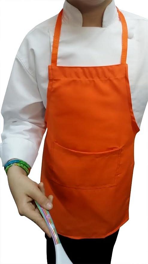 CHEFSKIN Purple Medium Lot of 5 Chef Aprons Real Fabric Pocket Lightweight
