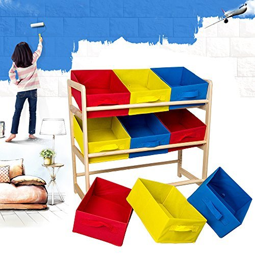 wooden toy storage rack with bins - 4  sc 1 st  360babytoys & Low prices for wooden toy storage rack with bins - toys for your ...
