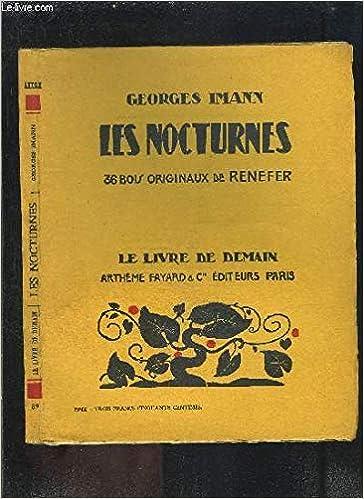 Les Nocturnes Le Livre De Demain N 89 Georges Imann