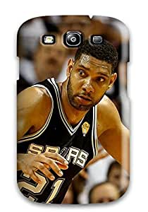 New Style 5390656K821000178 san antonio spurs basketball nba miami heat NBA Sports & Colleges colorful Samsung Galaxy S3 cases