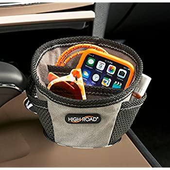 High Road DriverCup Cupholder Organizer and Phone Charging Station