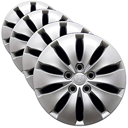 Amazon.com: Honda Wheel Cover - 16-inch Factory Replacement Hubcap Fits 2008-2012 Honda Accord (Set of 4 Professionally Reconditioned Wheel Covers): ...